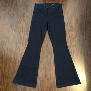 Gap 1969 jeans High waisted slim flare size 28S